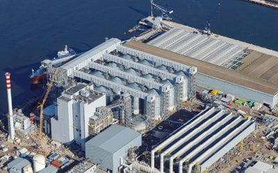 MGT Biomass Power Plant, Teesport, Teesside, UK
