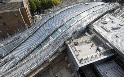 Whitechapel Crossrail Station, London, UK